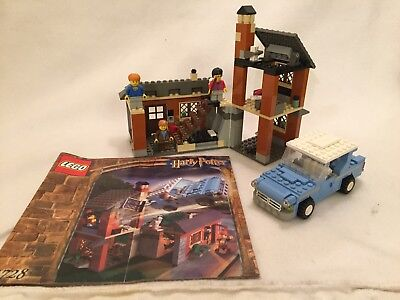 LEGO HARRY POTTER Escape from Privet Drive 4728 3x mini figs RARE COMPLETE