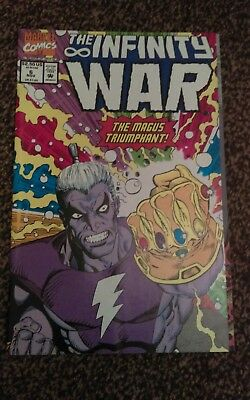 "The Infinity War #6_November 1992_Thanos_""the Magus Triumphant""!"