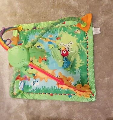 Baby Fisher Price Jungle Themed Activity Play Mat