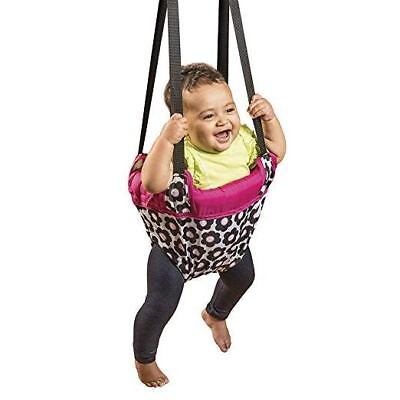 Pink Evenflo Johnny Jump Up Jumping Promotes Fun And Healthy Activity For Baby
