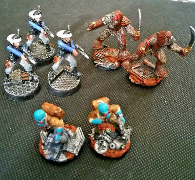 Star Wars- Imperial Assault- ALLIES PAINTED--REBEL SABOTEURS