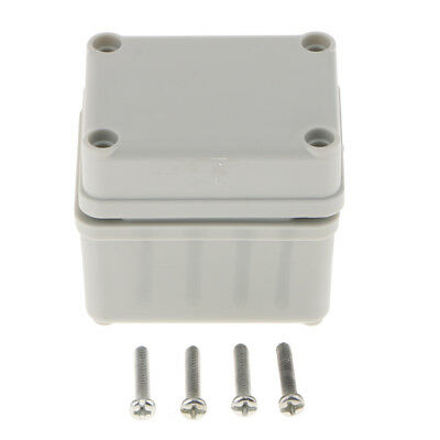Waterproof IP67 White Plastic Electronic Project Box Enclosure Case
