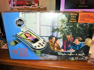 New Sealed Palm M130 Handheld Pda Device