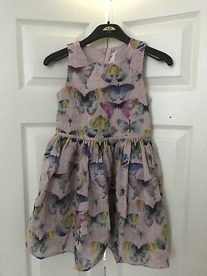 next girls party/ Prom Butterfly dress age 8