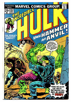 Incredible Hulk #182- 3rd Appearance Wolverine - Rare Mark Jewelers - Newstand