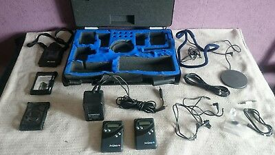 Hearing assistance fmGenie connevans transmitter & receiver