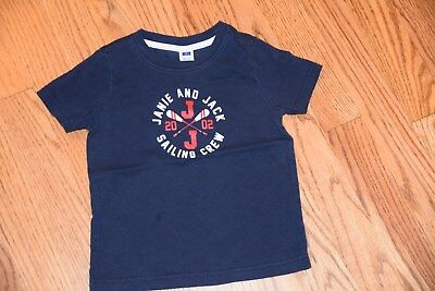 EUC janie and jack boys short sleeve shirt 18 to 24 months