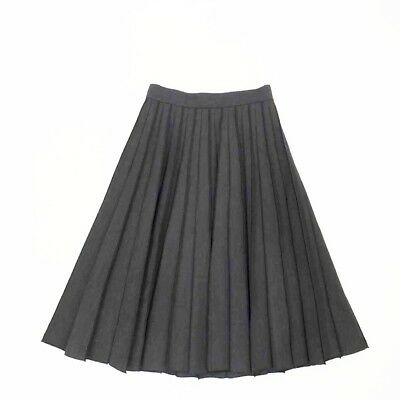 Marc Jacobs Gray Over The Knee Pleated Skirt Size: 2