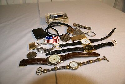 Vtg Men & Womens Jewelry Acquired At Estate Sold As Is As A Lot