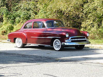 1951 Chevrolet Other 1950's Mild Custom, Beautiful Candy Burgandy 350 V-8; 700R4 Auto; Mustang II front end; R&P; A/C; Low Miles; Ex. Con. (video)