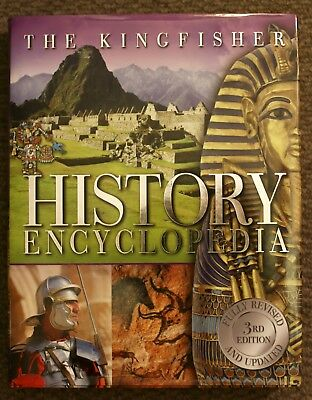The Kingfisher History Encyclopedia 3rd Edition Hardcover