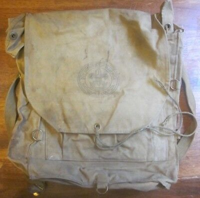 Vintage Boy Scouts Of America BSA Canvas Yucca Backpack Cruiser Pack