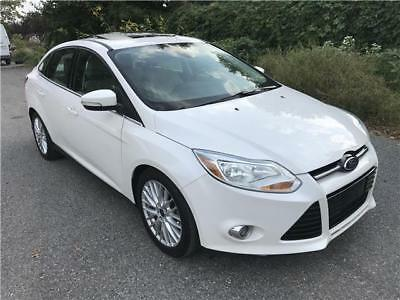 2012 Focus SEL 2012 Ford Focus SEL One Owner Fully Loaded No Reserve