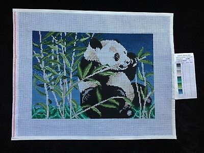 Treglown Designs Hand-painted Needlepoint Canvas Giant Panda/LAST CHANCE!!!