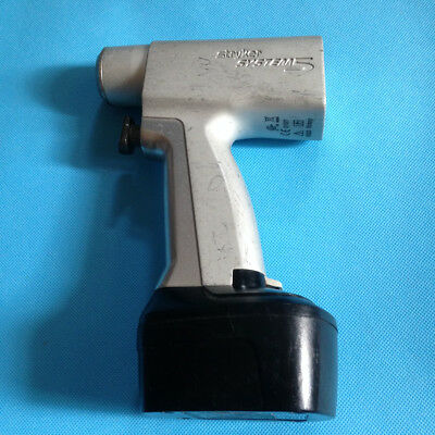 USED Stryker System-5  4203 4115 Rotary  Saw  Handpiece With battery