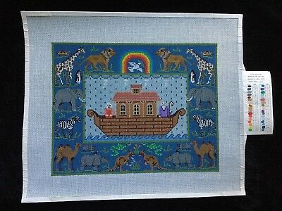 Treglown Designs/Susan Treglown Hand-painted Needlepoint Canvas Noah's Ark