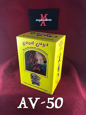 Alex Vincent Auto Signed Pop Funko! Child's Play Chucky! Andy! Good Guy Doll Box