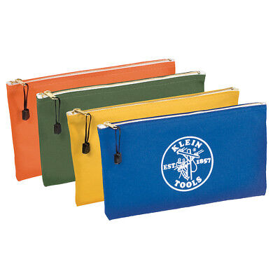 Klein 5140 Utility/Tool Bags-Olive, Orange, Blue, Yellow (4)
