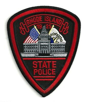 Rhode Island State Police - Shoulder - Iron On Patch