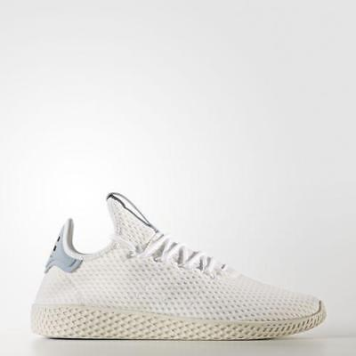 new style e985a 4e63e Mens Adidas Pharrell Williams Tennis HU Running White Tactile Blue BY8718