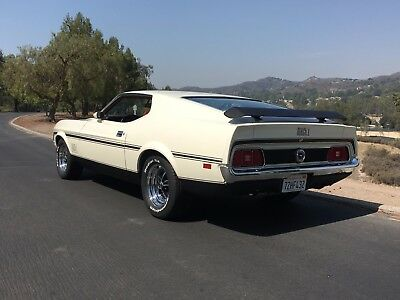 1972 Ford Mustang  1972 Mustang Mach 1 California Car Q Code Highly Optioned and Rare Power Windows