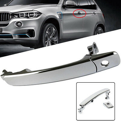 Front Left Driver's Side Outside Exterior Chrome Door Handle For Nissan Infiniti