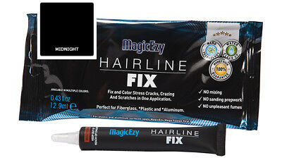 MagicEzy Hairline Fix: Repair & Color Gelcoat Cracks and Scratches (MIDNIGHT)