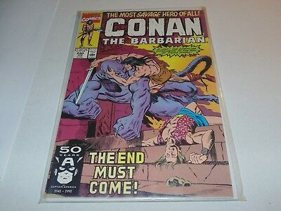 Conan the Barbarian #240 (Marvel Comics, Jan 1991) The End Must Come!