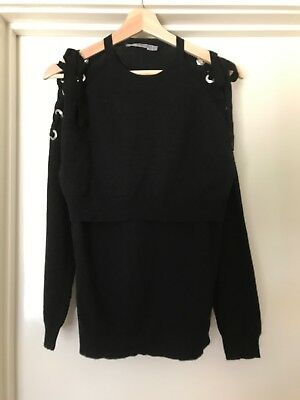 Stylish ASOS Light Nursing/Breastfeeding Jumper - Size 12