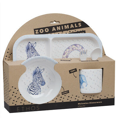 NEW Ethos Zoo Animals Dinner Set 5pce