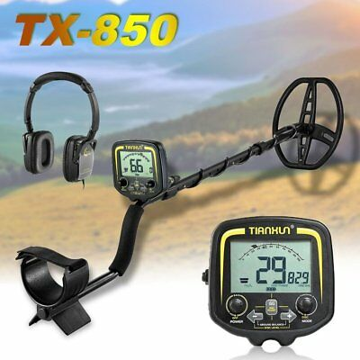 TX-850 Metal Detector 2.5m Underground Jewelry Hunting Treasure Search WP