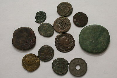 Ancient Roman Imperial Huge Lot A98 Xn44