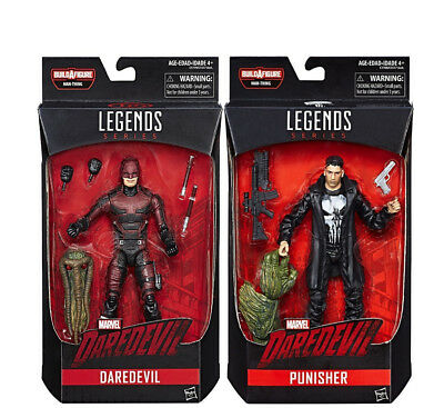 Marvel Knights Legends Series 6-inch Daredevil And Punisher