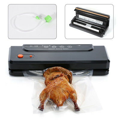 Vacuum Sealer Portable Sealing Machine Black Anti-bacteria Safe Efficient US Top