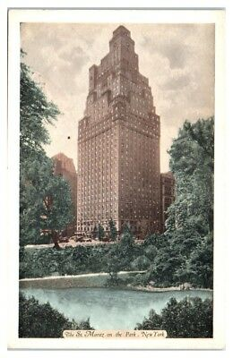The St. Moritz on the Park, New York City Postcard *213