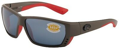 2e78988cda Costa Del Mar Tuna Alley Sunglasses TA-196-OSGP Race Grey 580P Grey  Polarized