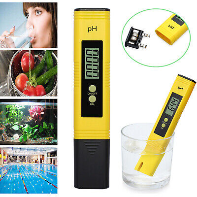 Electric Digital PH Meter Tester Pocket Hydroponics Aquarium Water Test Pen LCD