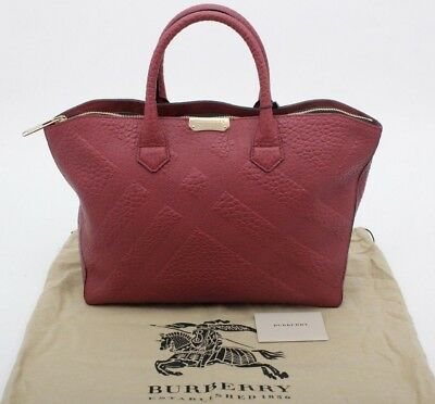 a2778f4b35e7 AUTHENTIC BNWT BURBERRY Calfskin Animal Print Ablett Tassel Tote Bag ...