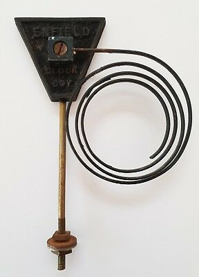 Vintage ENFIELD Striking Clock CHIME/GONG - 15.5cm long