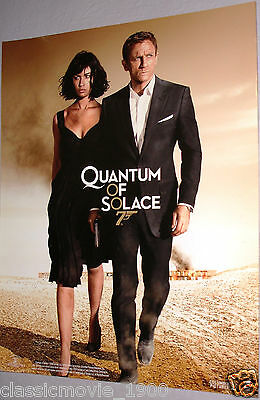 "007 James Bond Quantum Of Solace Origin Lobby Cards 11"" X 14"" Mint"
