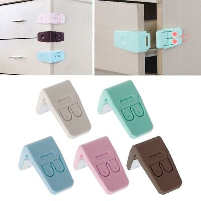 Baby Kids Safety Protection From In Cabinets Lock Drawer Door Security Product