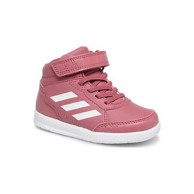 competitive price 2f8ed 9f77d Adidas AltaSport Mid EL I sneaker a stivaletto bimba rosa bianco AH2551
