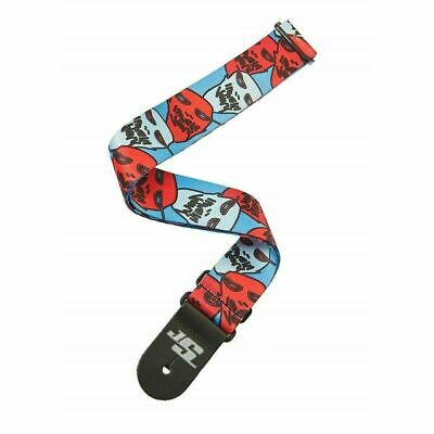 D'addario Planet Waves Joe Satriani Guitar Strap, 50mm Ghost Sale Price 1 ONLY
