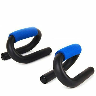 S-type Push Up Frame Foam Handle Home Exercise Training Sports Fitness KZ