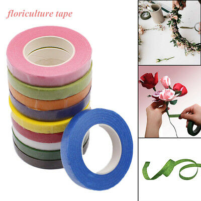 Florist Floral Stem Tape Corsages Buttonhole Artificial Flower Wrap DIY New
