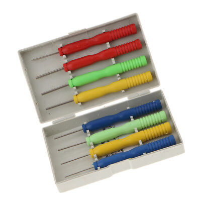 Blesiya 8pcs/set Stainless Steel Hollow Needles Desoldering Tool with Case