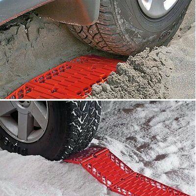 Universal Car Wheel Anti-Skid Pad Tire Traction Mat Plate Grip for Snow Mud Sand