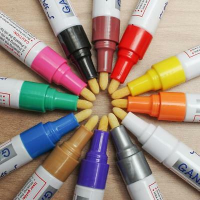 Multicolor Marker Pen Permanent Paint Car Tire NoteBook Cups Wall Board