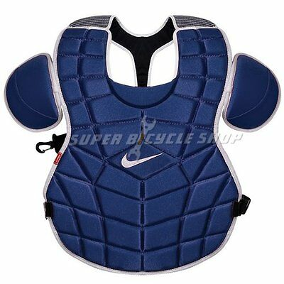 """AU Ship~NIKE DE3539 Chest Protector With Padding 17"""" Inch , Navy"""