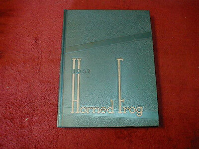 1962 TCU, Texas Christian University Yearbook, Fort Worth, Texas, Horned Frog
